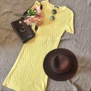 Summer Knit Midi Dress by American Apparel